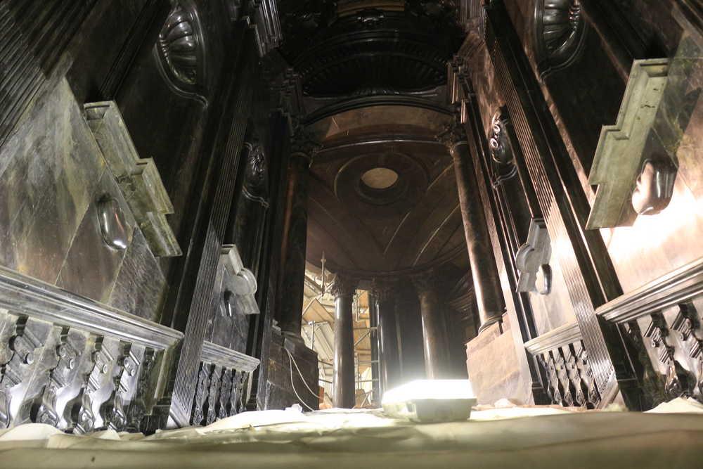 Torino. Cappella della Sindone, fasi finali del restauro (2)