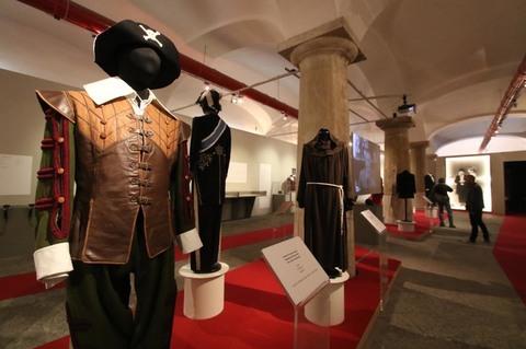 Costumi di scena della mostra Totò Genio. Foto Renato Esposito