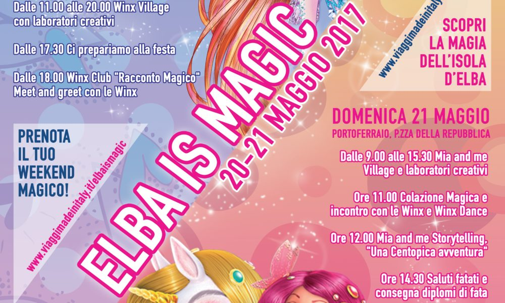 Elba is Magic Winx