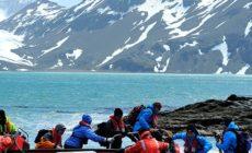 Fiordi durante il viaggio con Hurtigruten