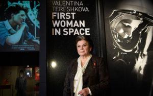 La prima donna astronauta, Valentina Tereshkova