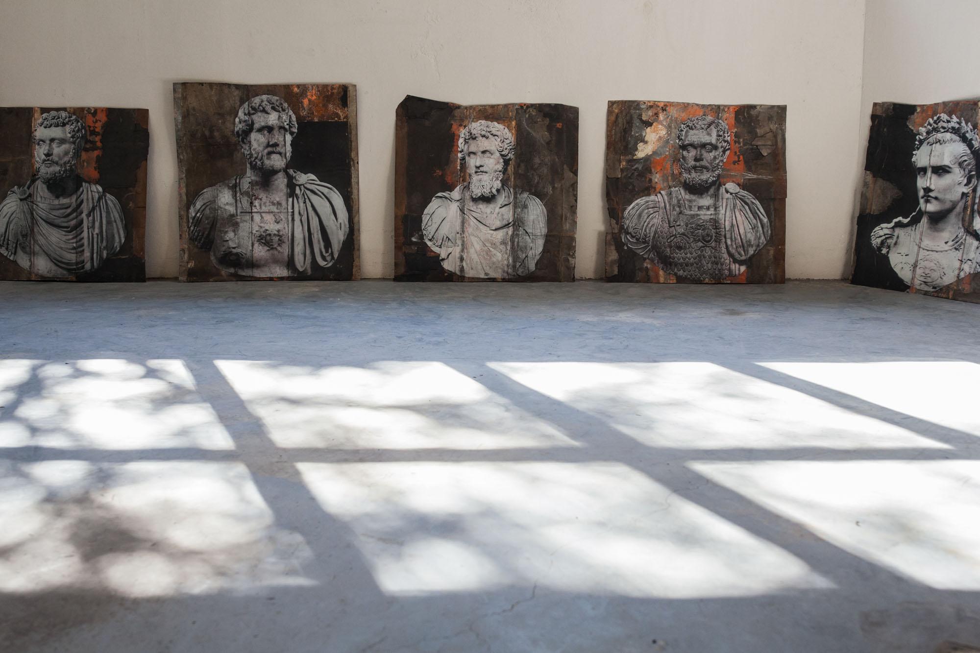 Mostra Luca Pignatelli Palazzo Cucchiari