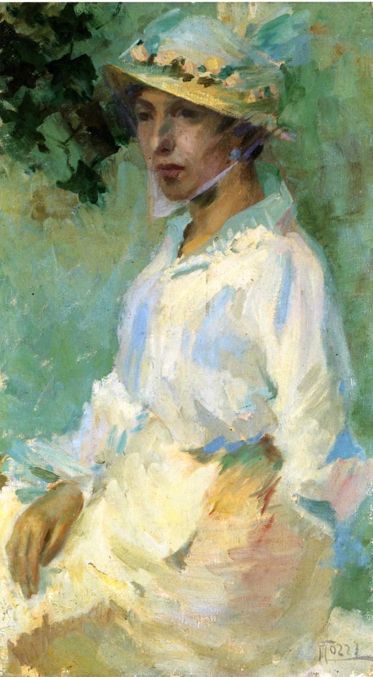 Mario Tozzi, Ritratto della madre, 1915