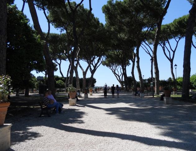 Roma turismo punti panoramici vista gianicolo san pietro giardino degli aranci pincio terrazzo - Giardino degli aranci frattamaggiore ...