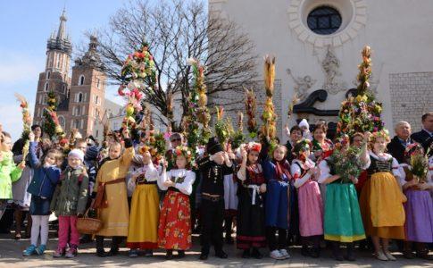 Palme di Pasqua in Polonia