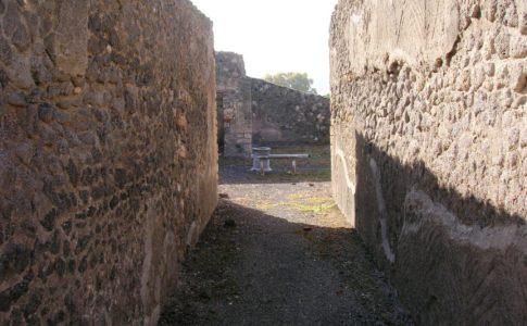 Crollo Casa del Pressorio Pompei
