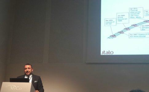 Presentazione dei nuovi servizi ITALO durante la BIT 2017