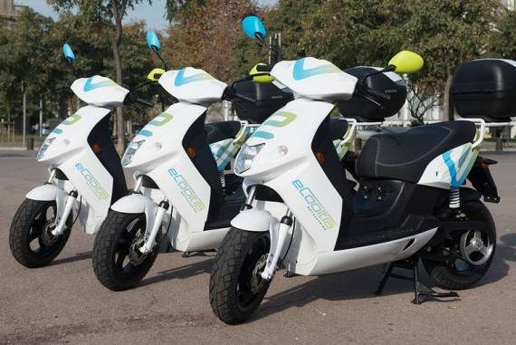 Scooter elettrici eCooltra
