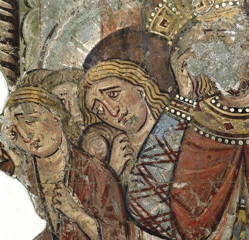 i ritratti di Alessandro Magno e Costantino