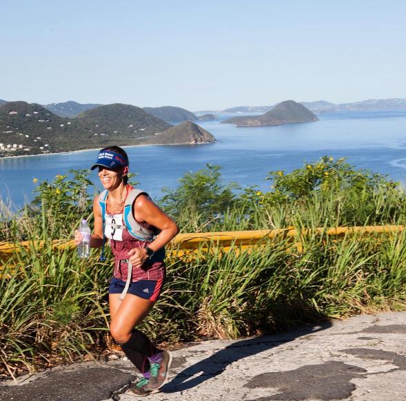 Partecipante della Tortola Torture (Ultramaratona)