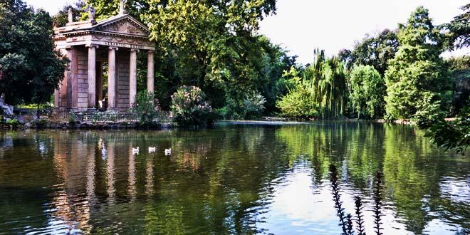 Laghetto Villa Borghese (nell'itinerario dei parchi di Roma)