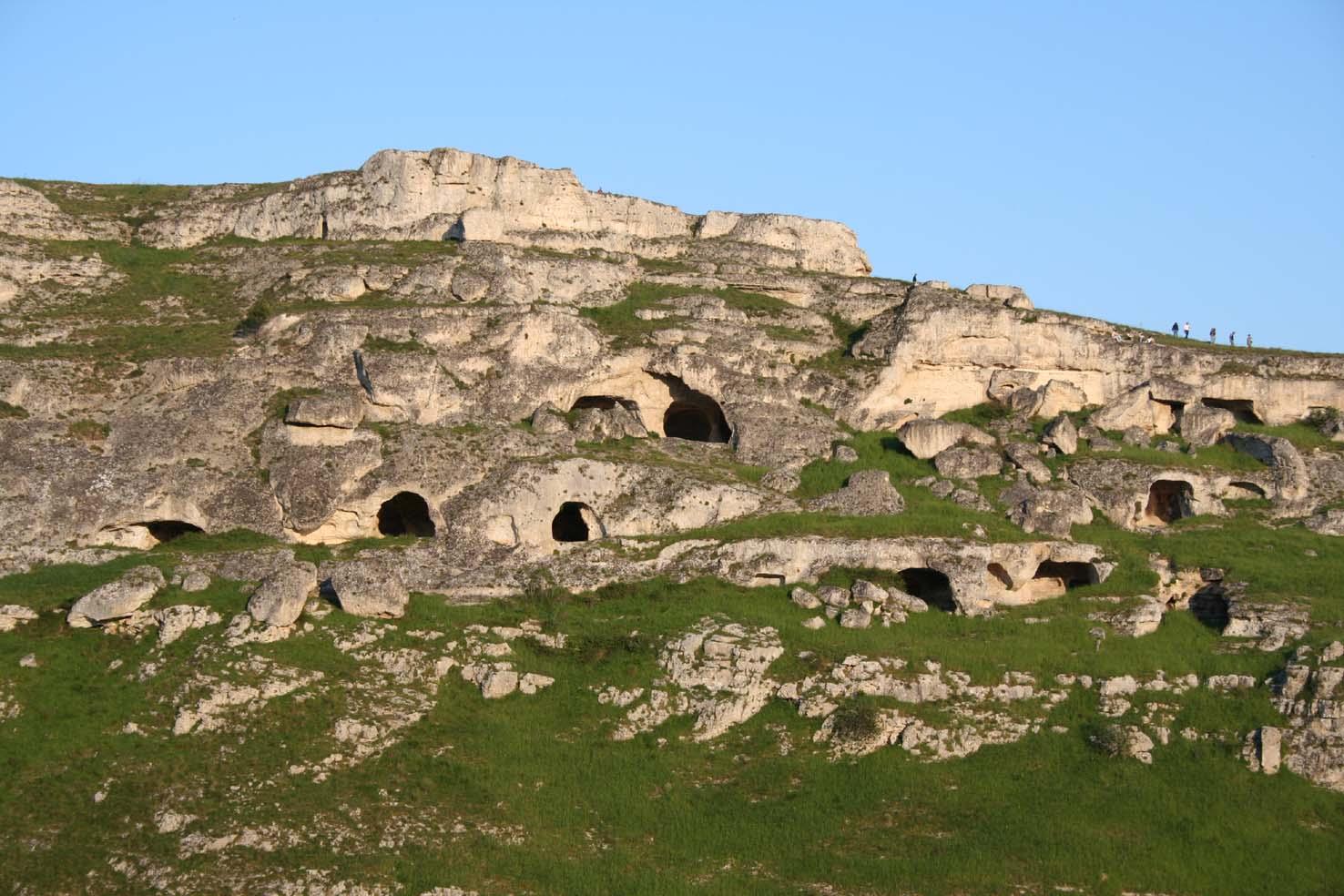 Matera, grotte