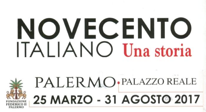 Novecento Italiano. Una Storia, Palermo, 24 marzo - 31 agosto