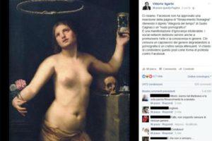 Vittorio Sgarbi contro Facebook