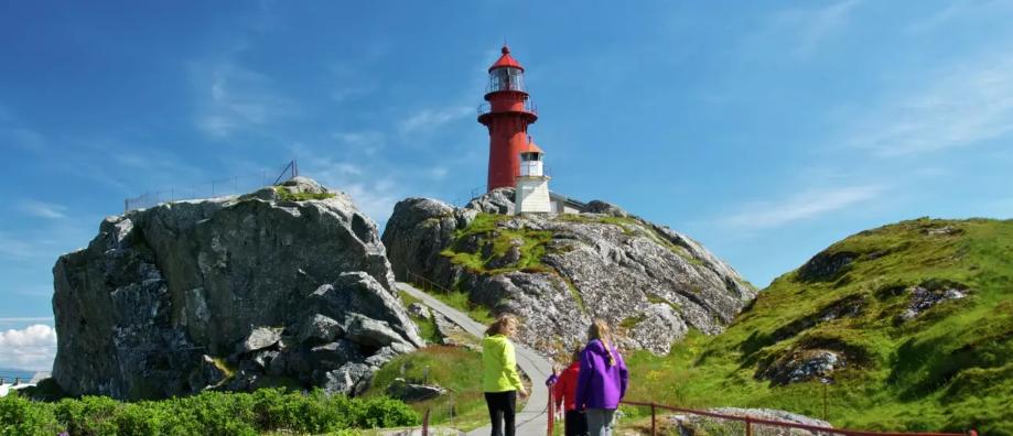 Uno dei fari della Norvegia