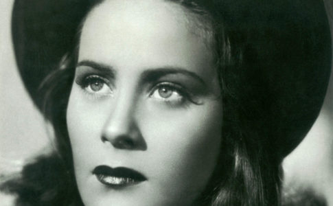 Alida Valli (in mostra alla Casa del Cinema)
