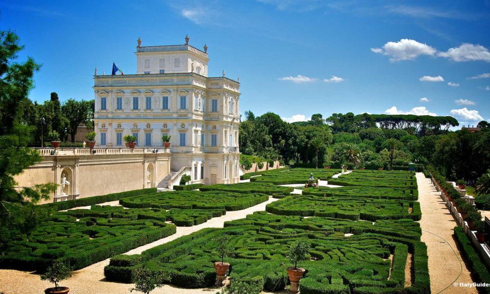 Villa Pamphili (itinerario parchi di Roma)