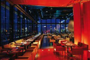 Atmosfera elegante e sofisticata nel ristorante Georges, del Centre Pompidou di Parigi
