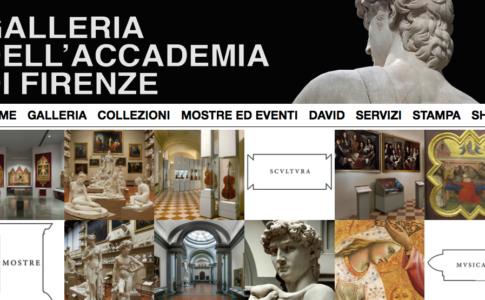 Sito web Galleria dell'Accademia Firenze
