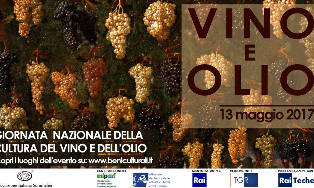 Giornata Nazionale della Cultura del vino e dell'olio 2017