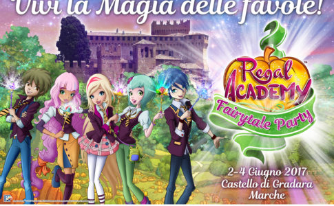 Regal Academy Fairytale Party 2-4 giugno Castello di Gradara