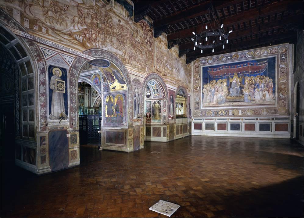 Sala della Maestà di Martini Simoni a Siena