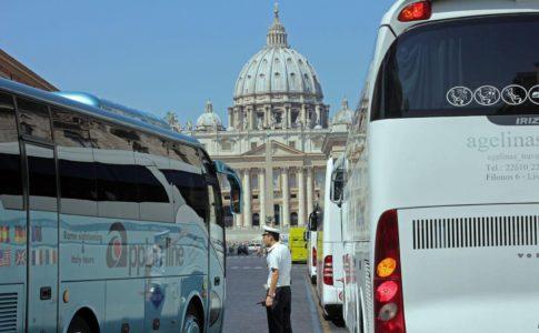 Bus turistici sperimentazione della Ztl
