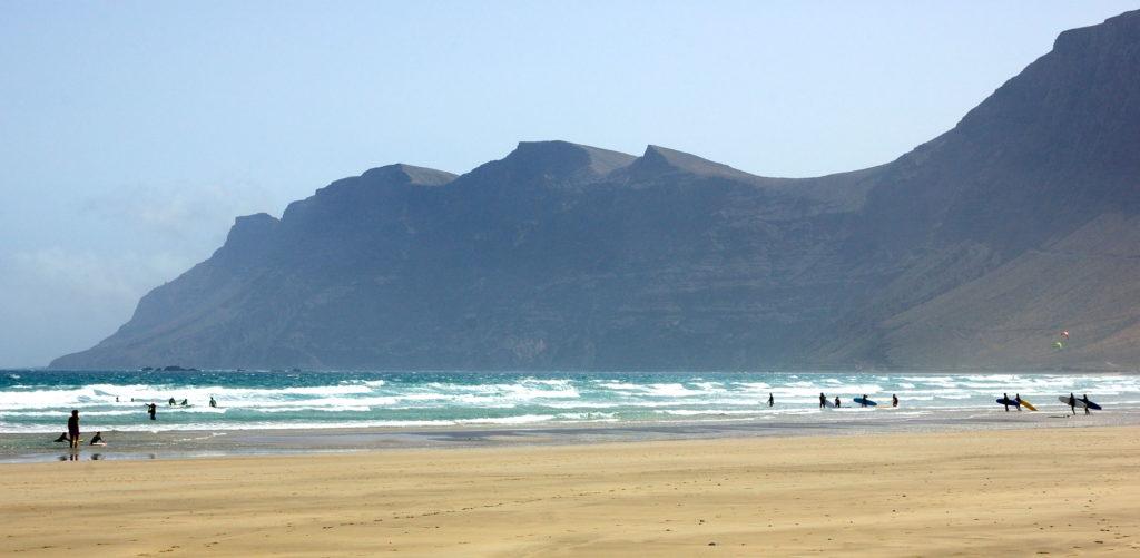 Playa Famara, Lanzarote