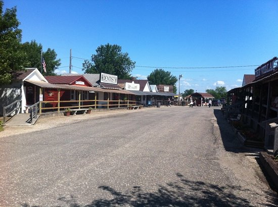 Frontier Village a Jamestown, North Dakota
