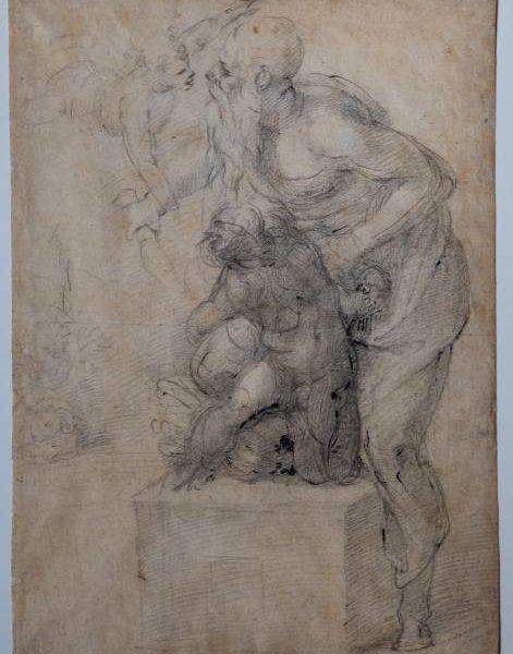 Sacrificio di Isacco, Michelangelo Buonarroti (1530 circa)