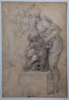 Michelangelo, Il sacrificio di Isacco, Musei Capitolini