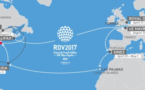 RENDEZ-VOUS 2017 TALL SHIPS REGATTA