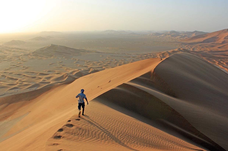 Rub al Khali desert, Oman