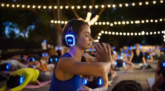 Silent yoga, tra le attività estate 2017