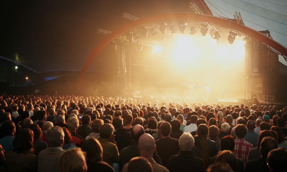 Stage durante l'Helsinki Day