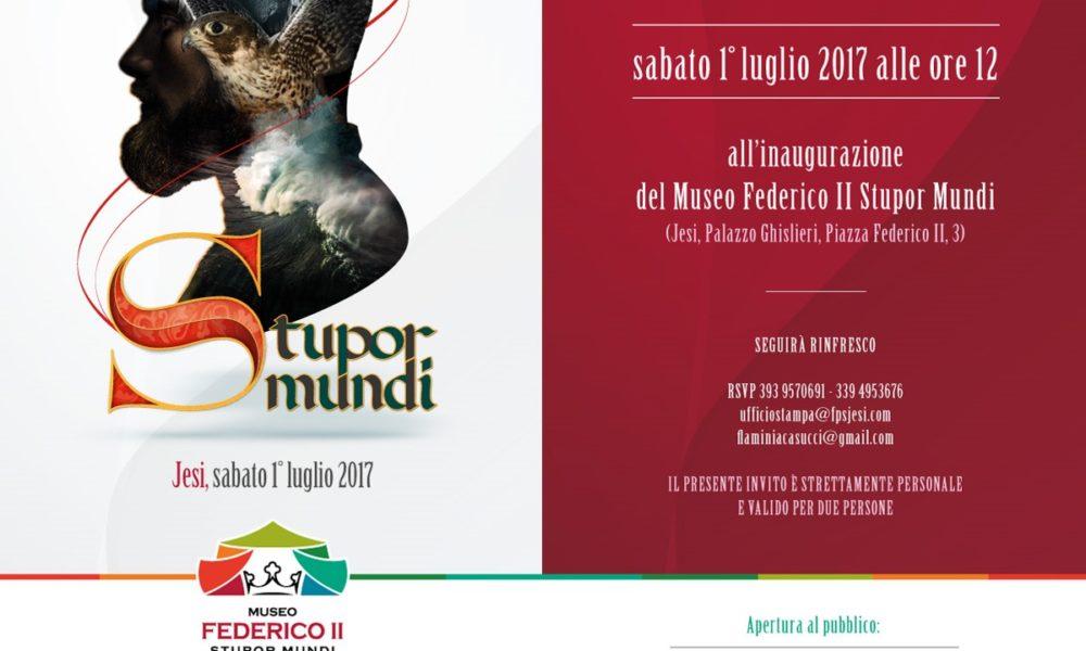 Invito inaugurazione Jesi Stupor Mundi 2017