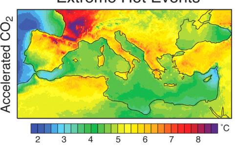 Grafica ondate di calore
