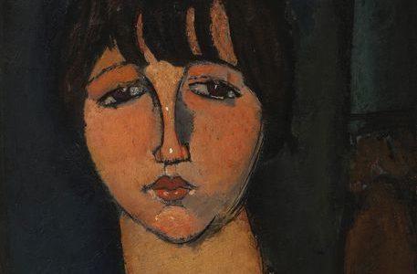 Dipinto di Modigliani esposto alla Collezione Peggy Guggenheim