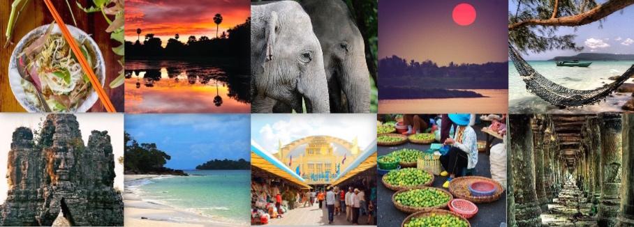Collage Cambogia