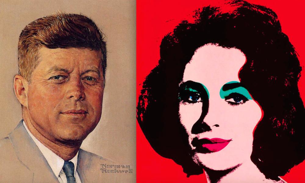 """Dipinti in mostra a """"Inventing America"""""""