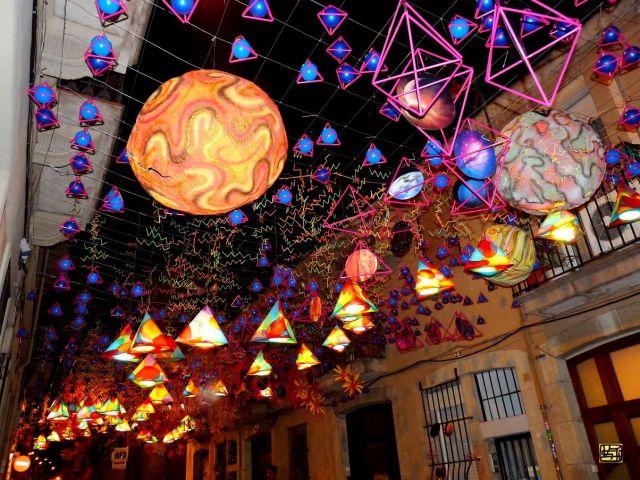 Festa de Gracia, Barcelona, Catalogna,