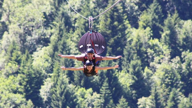 FlyEmotion, tra i parchi avventura italiani
