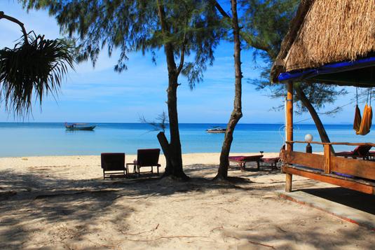 Otres Beach, Cambogia