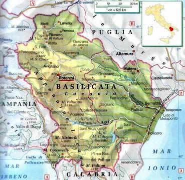 Maratea Sulla Cartina Geografica.Basilicata Terra Millenaria Immersa Nella Natura Tutti I Luoghi Da Visitare