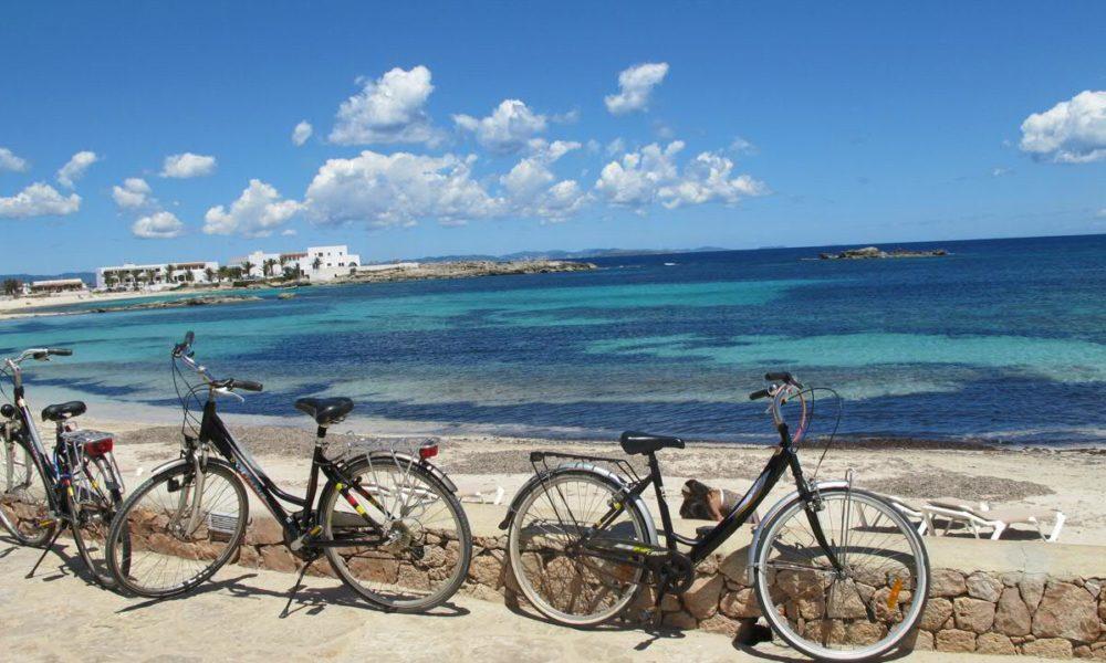 Bici in Formentera, Baleari