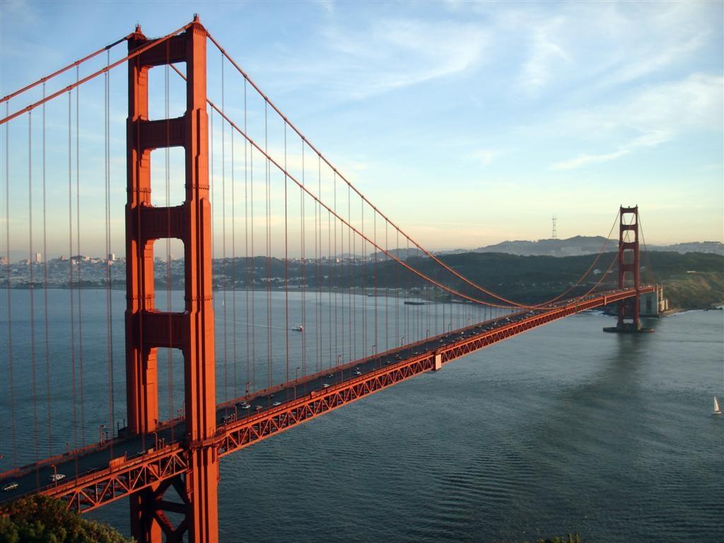 Ponte The Golden Gate Bridge, San Francisco,