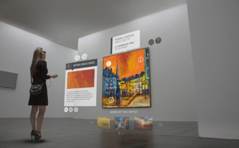 smart glass musei e mostre
