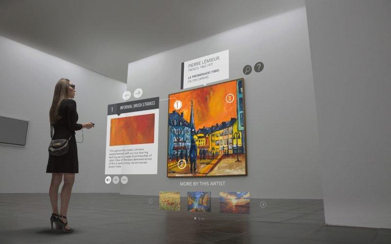 smart glass musei e mostre