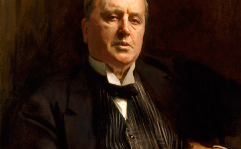 John Singer Sargent (1856–1925), Henry James, 1913, oil on canvas. National Portrait Gallery, London; Bequeathed by Henry James, 1916. NPG 1767.