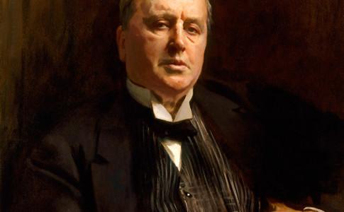 John Singer Sargent (1856–1925), Henry James, 1913, oil on canvas. National Portrait Gallery, London; Bequeathed by Henry James, 1916. NPG 1767.